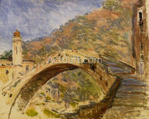 Bridge at Dolceacqua 1884