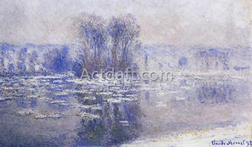Floes at Bennecourt 1893