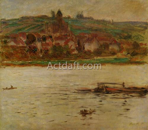 Barge on the Seine at Vertheuil 1901-1902