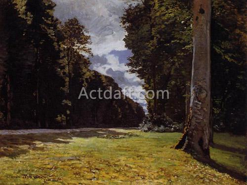 Le Pave de Chailly in the Fontainbleau Forest 1865